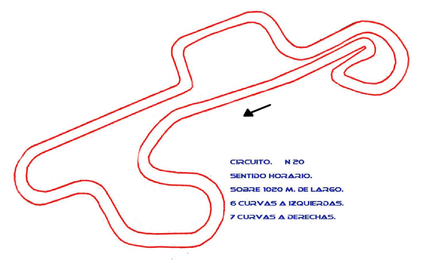 Circuito Oliva 20