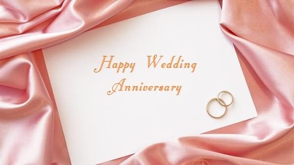 Happy Wedding Anniversary Couple Cake