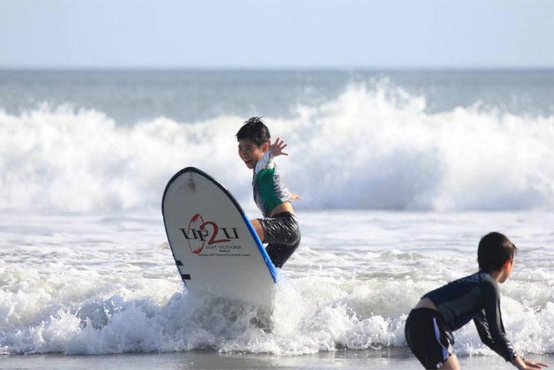 UP2U Surf School Bali Kids Lessons
