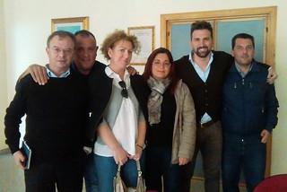 Noicattaro. Ex dipendenti S. Agostino front
