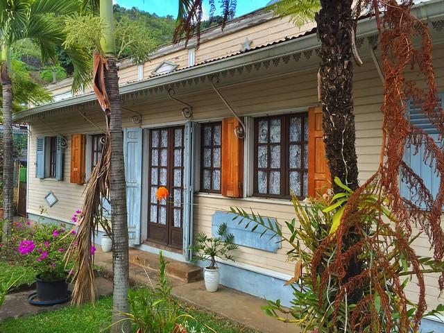 Casa criolla en Entre-Deux (Isla Reunión)