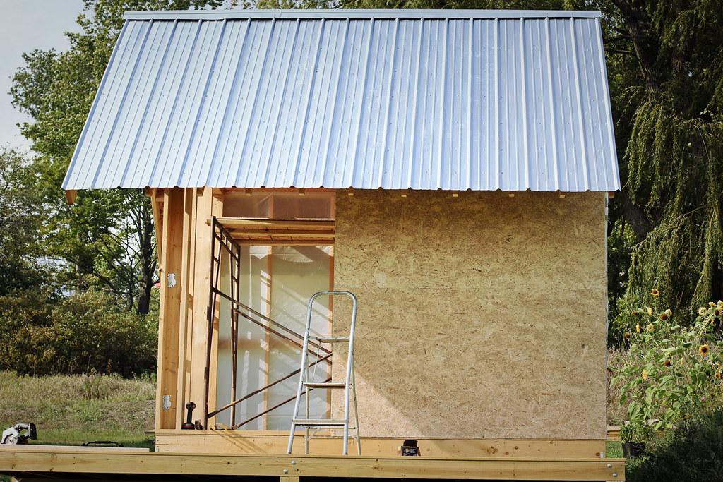 tiny house frame roof Building a Tiny House Triple
