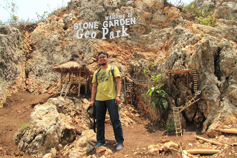 Saya di Stone Garden Citatah, Padalarang, Bandung