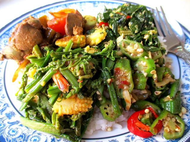 Lok Ming Yuen nasi campur