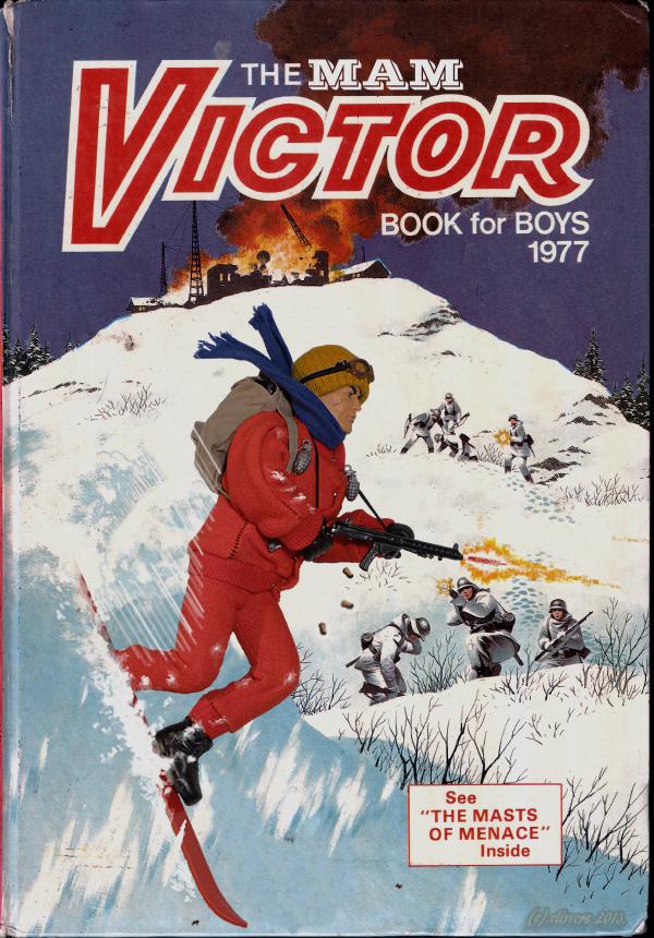 The Victor Book for Boys (1977) Special MAM Edition... 31050788041_893341e5eb_o