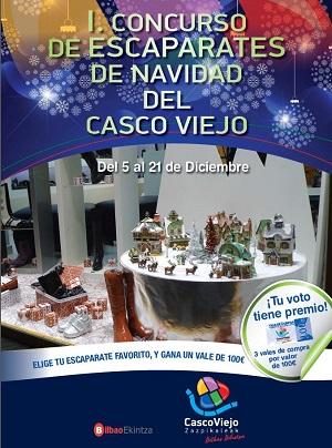 El Casco Viejo de Bilbao busca el escaparate más bonito de esta Navidad entre 31 comercios participantes