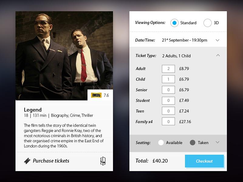 Legend Cinema App 1