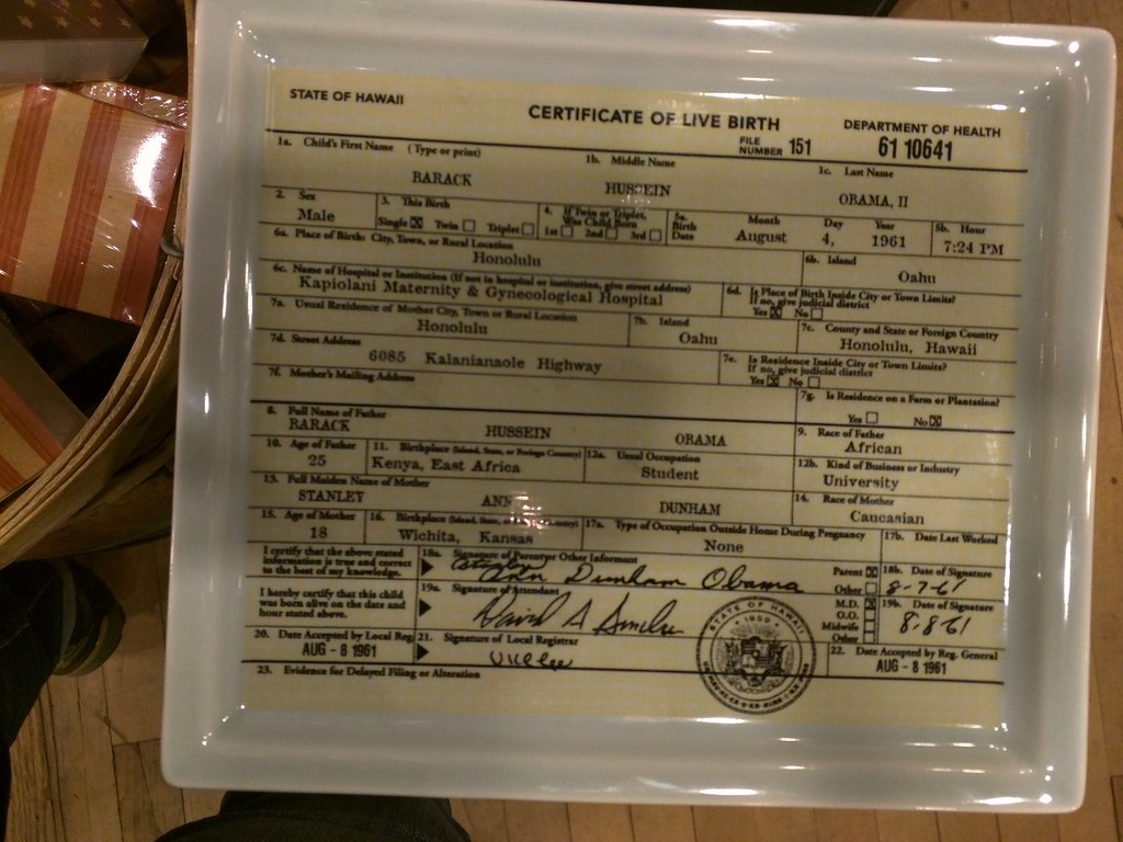 Birth certificate fishes eddy obama dish obama the repub flickr aiddatafo Image collections