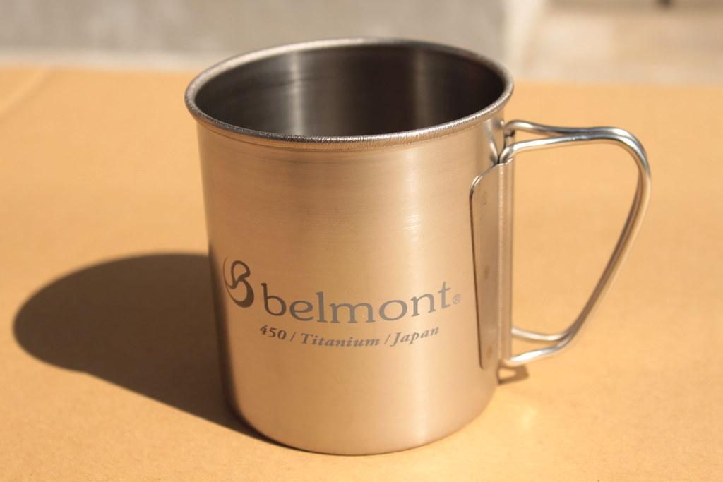 ベルモントーbelmont チタンシングルマグ450フォールディングハンドルlogo