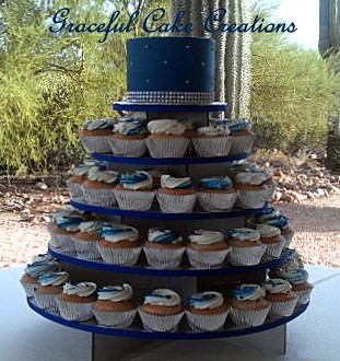 Wedding Cake Cupcakes Designs