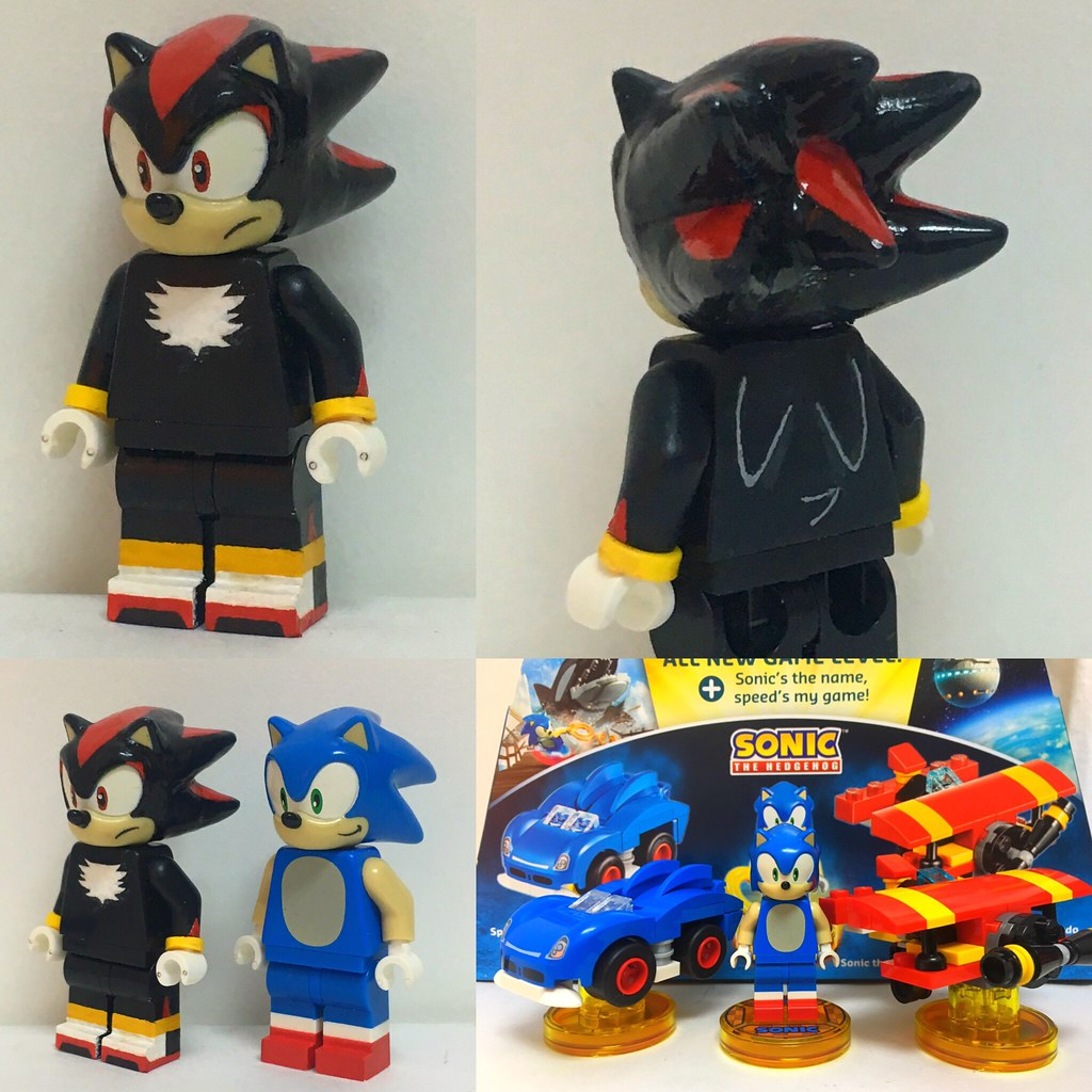 how to make the sonic batray lego dimensions
