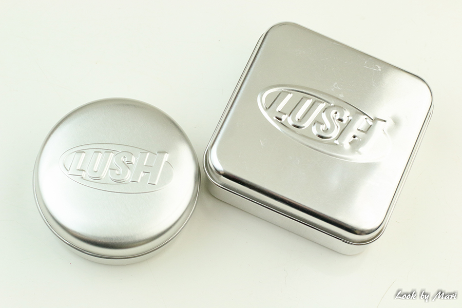 8 lush metal containers for shampoo conditioner soap