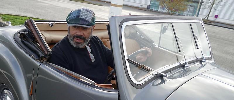 Triumph 1800 Roadster 1948 - Rambouillet Dim 20 Nov 2016 31006827912_f177ab496d_c