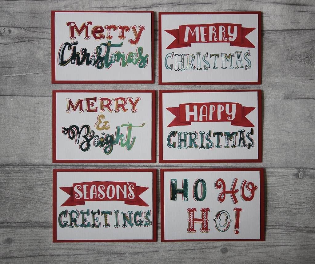 Handmade Christmas cards now on Etsy – Roisin Grace