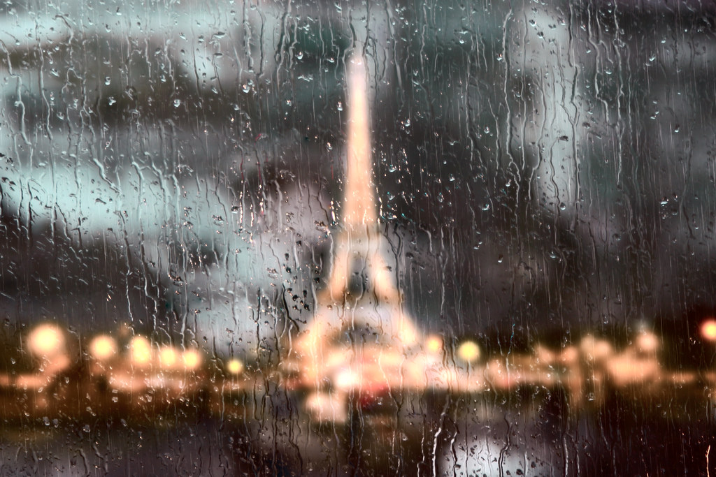 Image result for paris rain