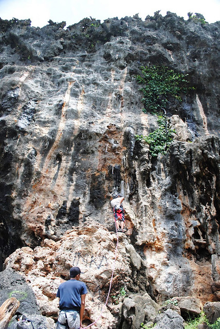 Siung Beach Rock Climbing