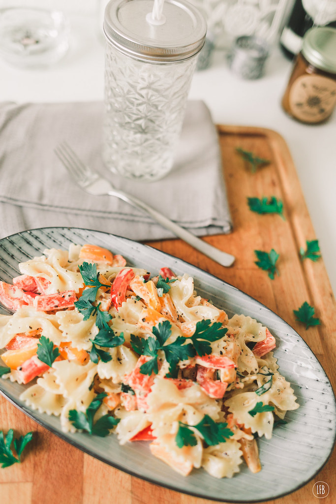 lactose free creamy pasta - lovefromberlin.net