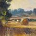 PA711 September landscape. Oil on board; 31 x 26 cm Neil Bolton Fine Art Painter