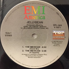 JELLYBEAN:THE MEXICAN(LABEL SIDE-A)