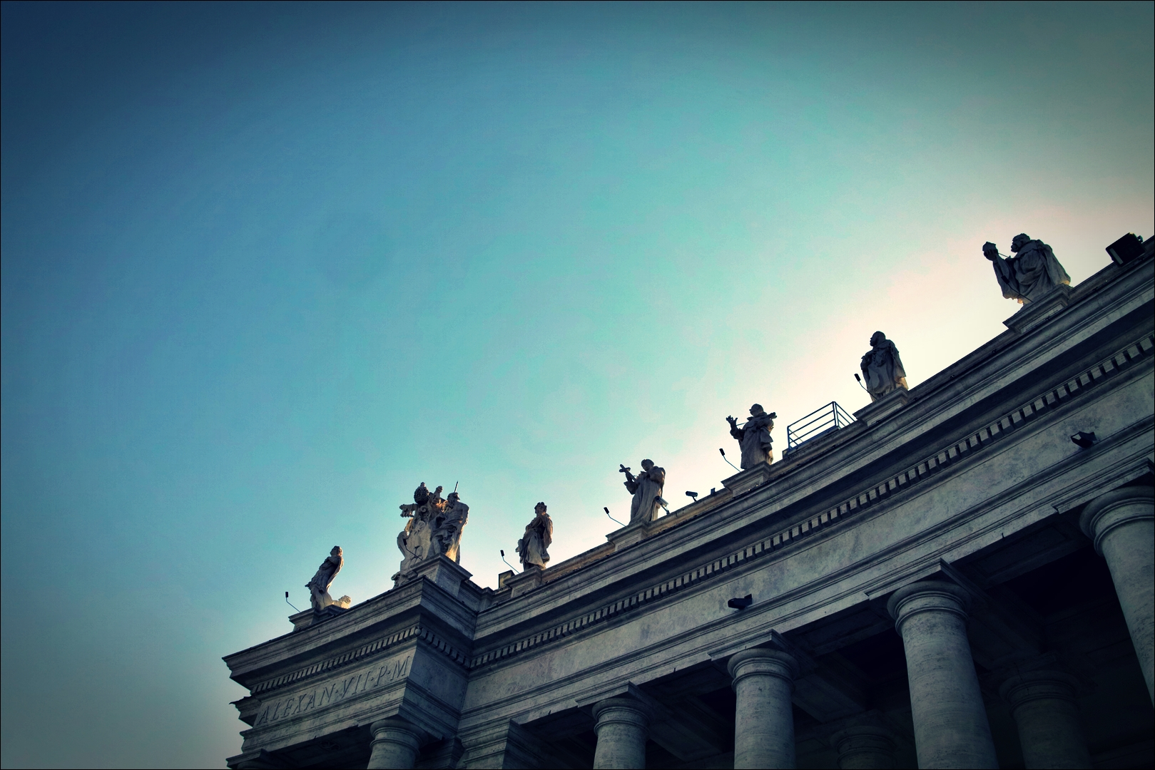 성 베드로 성당-'로마의 밤거리'