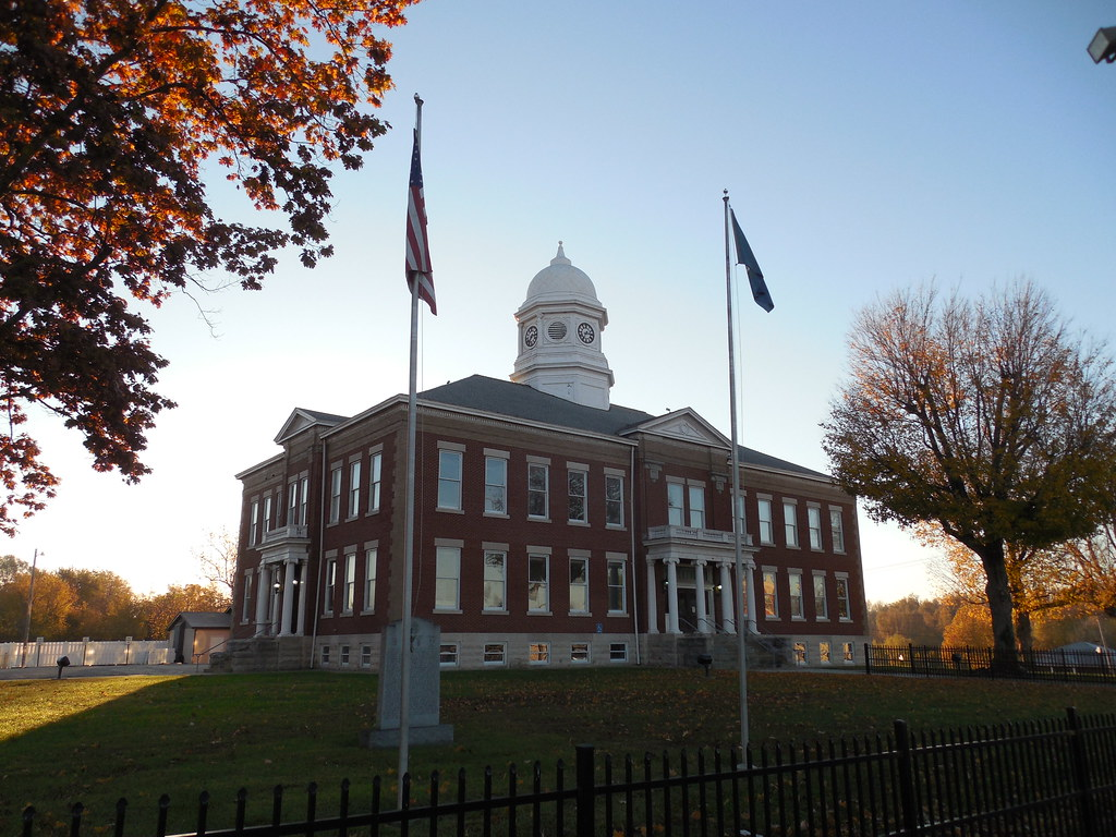 Ballard County Courthouse   Wickliffe, Kentucky Constructed ...
