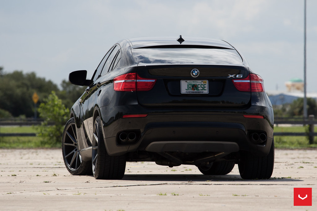 Bmw X6 22 Quot Vossen Vfs1 Matte Graphite Wheels 0008 Flickr