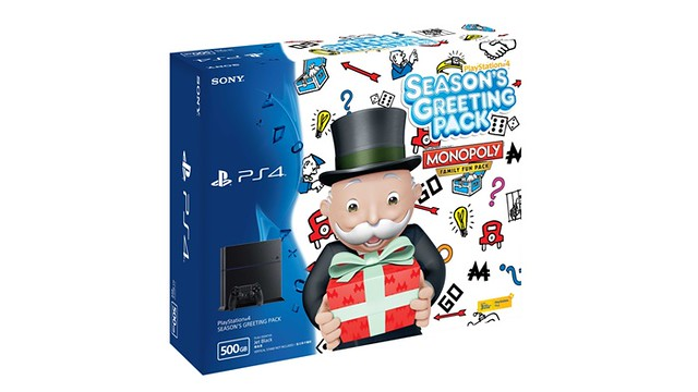PlayStation®4 Season's Greeting Pack - The Greatest Console Bundle for Christmas and New Year