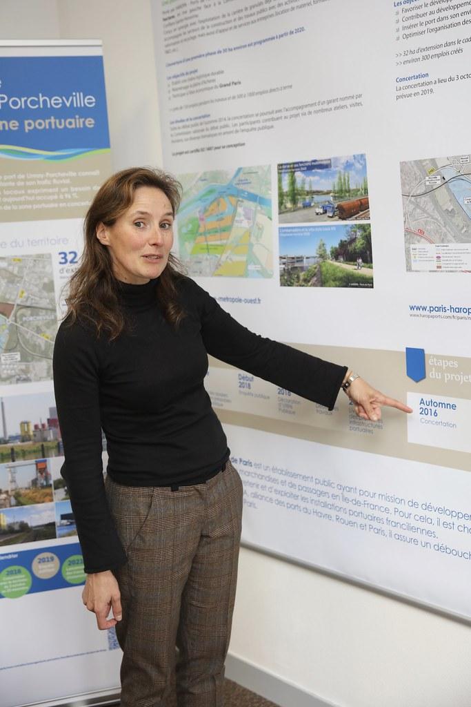 Visite de la zone portuaire de limay porcheville conseil for Yvelines visite
