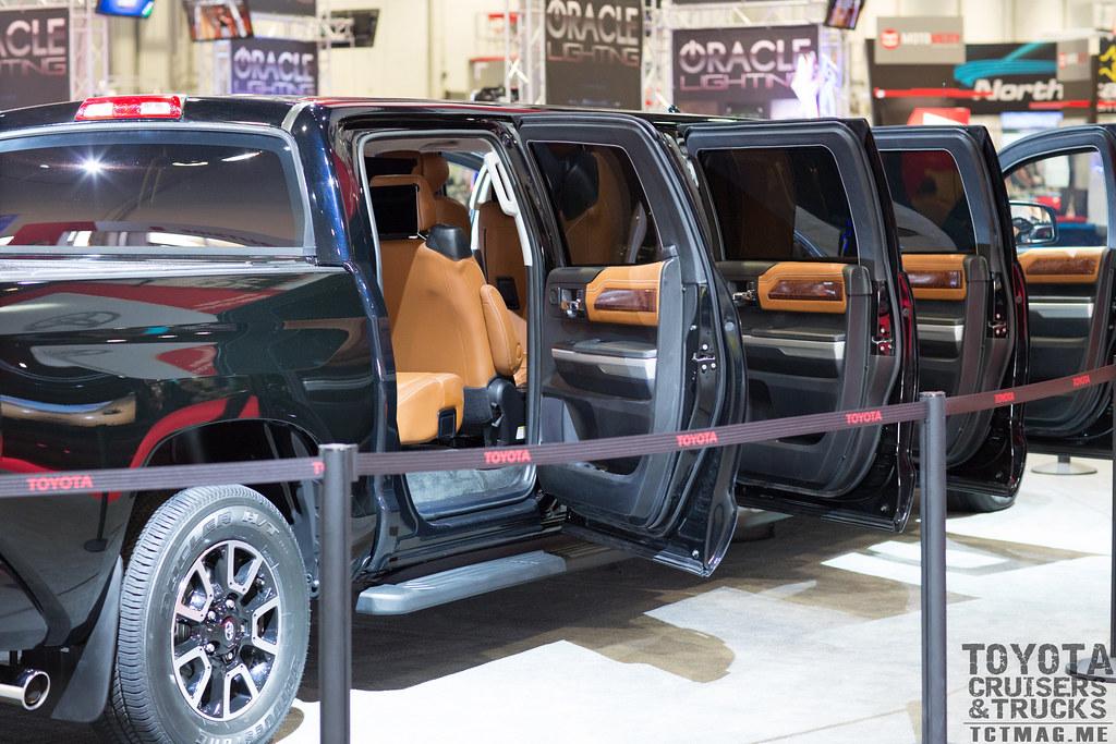 Tundra Limousine Tundrasine  - SEMA 2015 Toyota