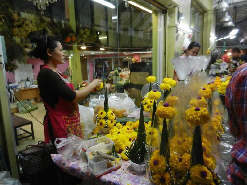 Цветочный рынок Бангкок