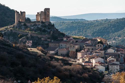 El Mirador del Valle del río Dulce y el Castillo de Pelegrina