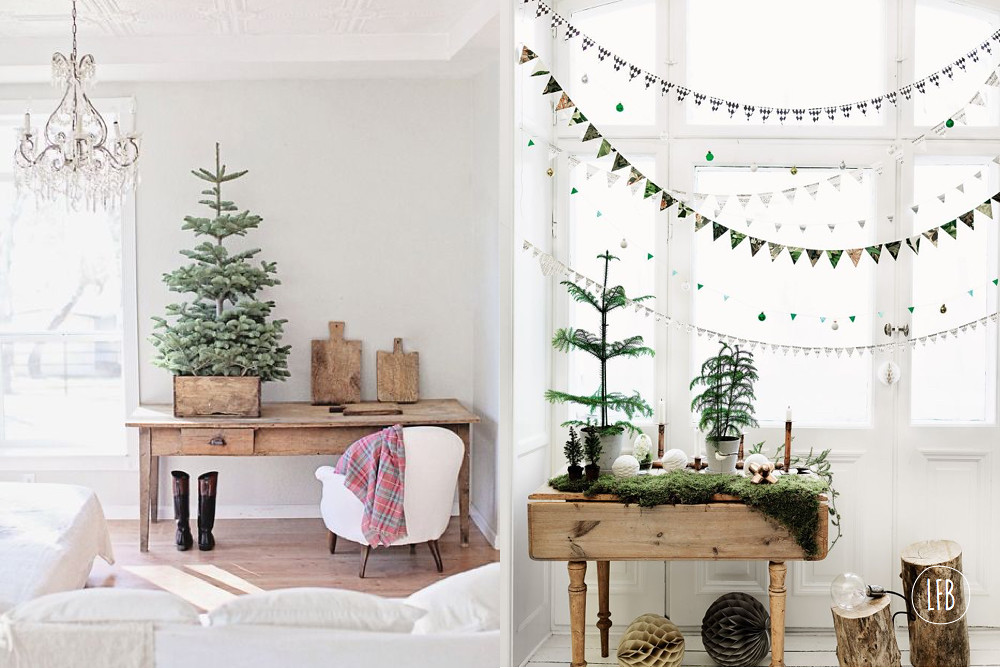 christmas decor inspiration from pinterest for lovefromberlinnet - Boho Christmas Decor