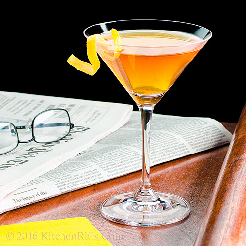 The Journalist Cocktail