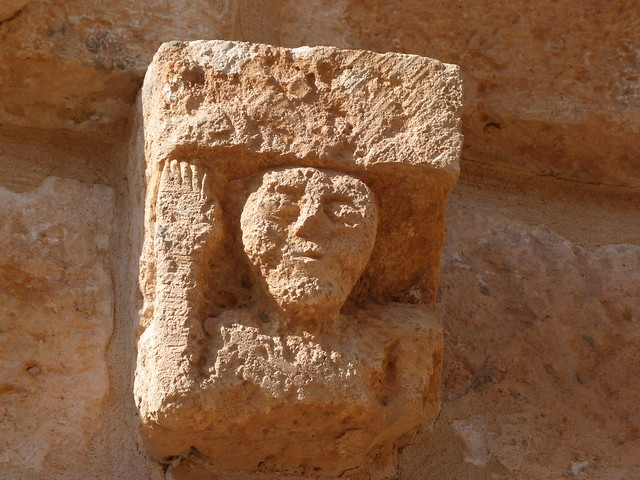 Detalle románico en Tierras de Berlanga (Soria)