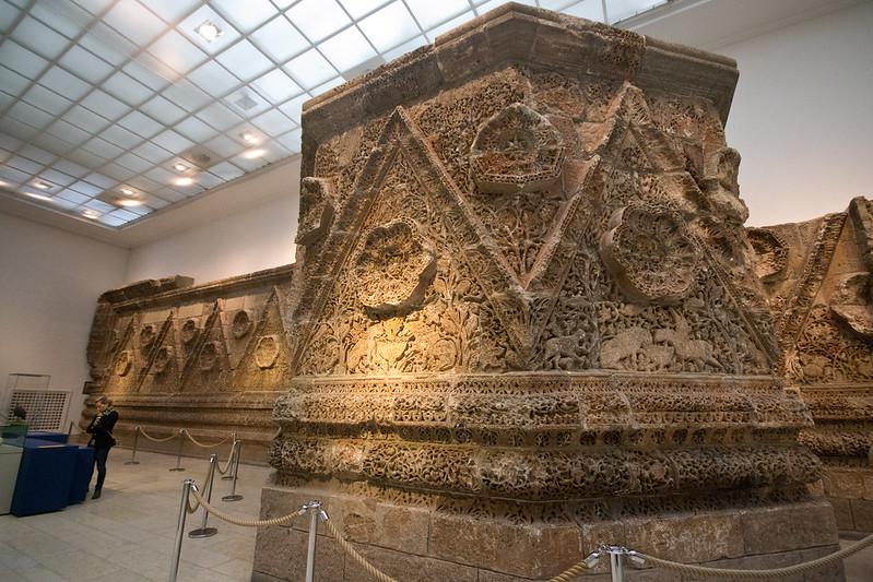 Mschatta Façade - Pergamon Museum - Treasures of Berlin's Museum Island | packmeto.com