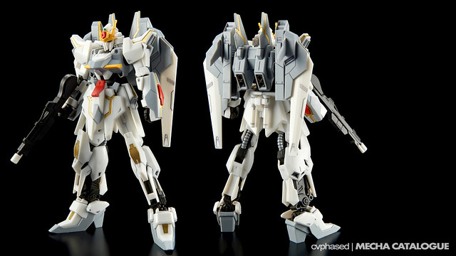 HGBF Lunagazer Gundam - Colored Prototype Shots