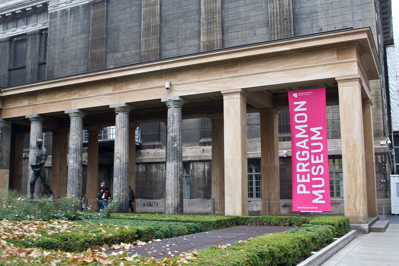 Pergamon Museum Entrance - Treasures of Berlin's Museum Island | packmeto.com
