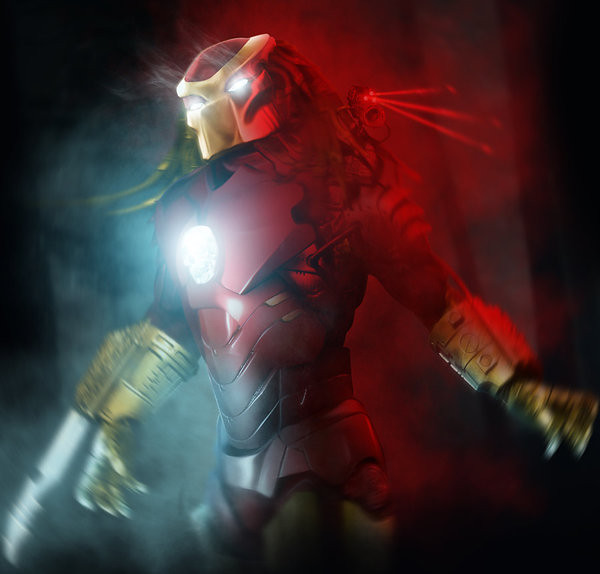 Iron MaSH! by Kode Logic - Iron Man / Predator