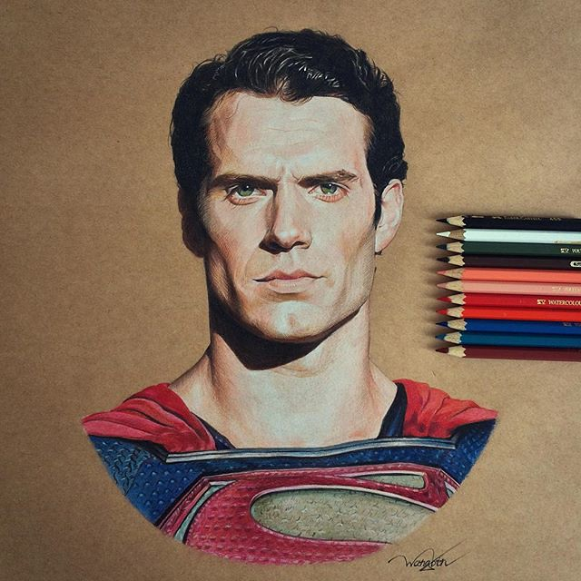 Henry Cavill's Superman by godot_23