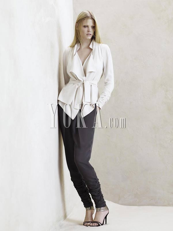 Zara women's Spring/Summer 2009 collection elegant men's wear research