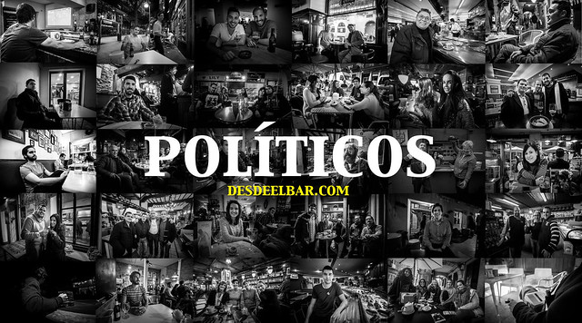 españoles en bares
