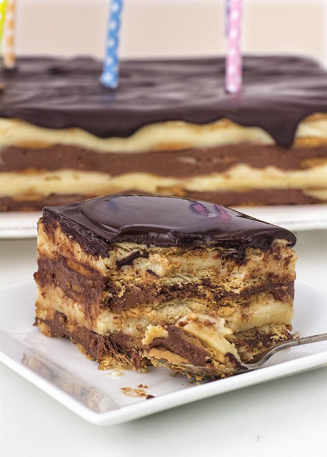 tarta galletas maría