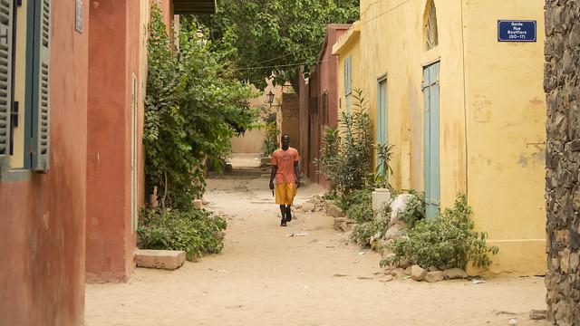 Errance sur Gorée