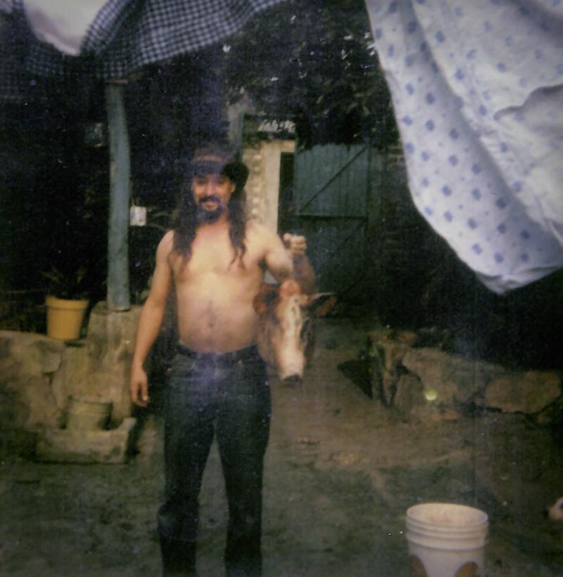 John in Turicato, Mexico circa 1993