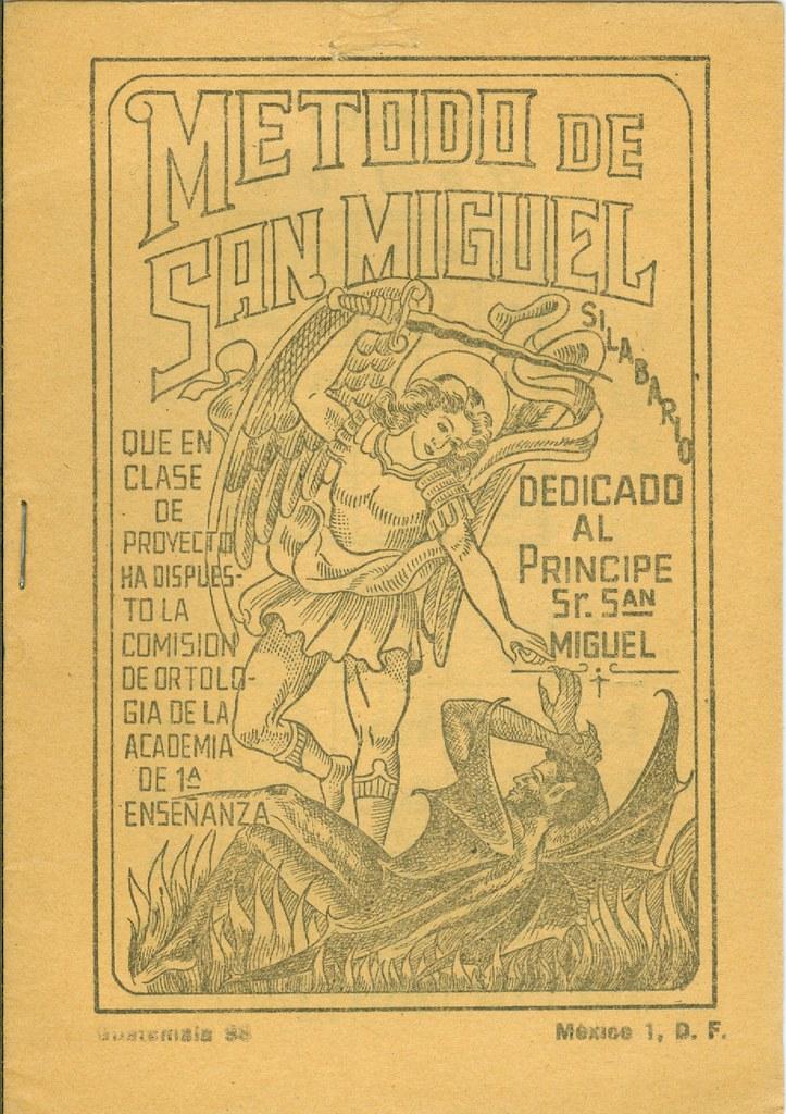 """Librito del """"Metodo de San Miguel"""" para la enseñanza de la"""