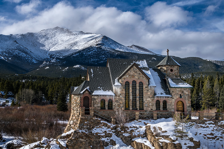 Chapel on the Rock (St. Catherine of Siena Chapel), Allenspark, Colorado