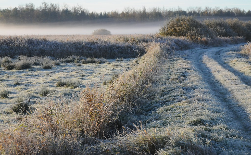 In Der Sanften Ruhe Der Winterbedeckten Fäldern Liegt Die Reine Atmosphäre Zu Unserer Inneren Seel. - Magazine cover