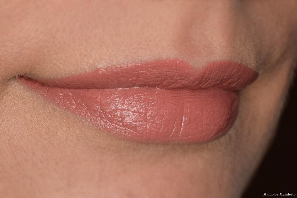 Howl Cosmetics gingerbread lipstick swatch