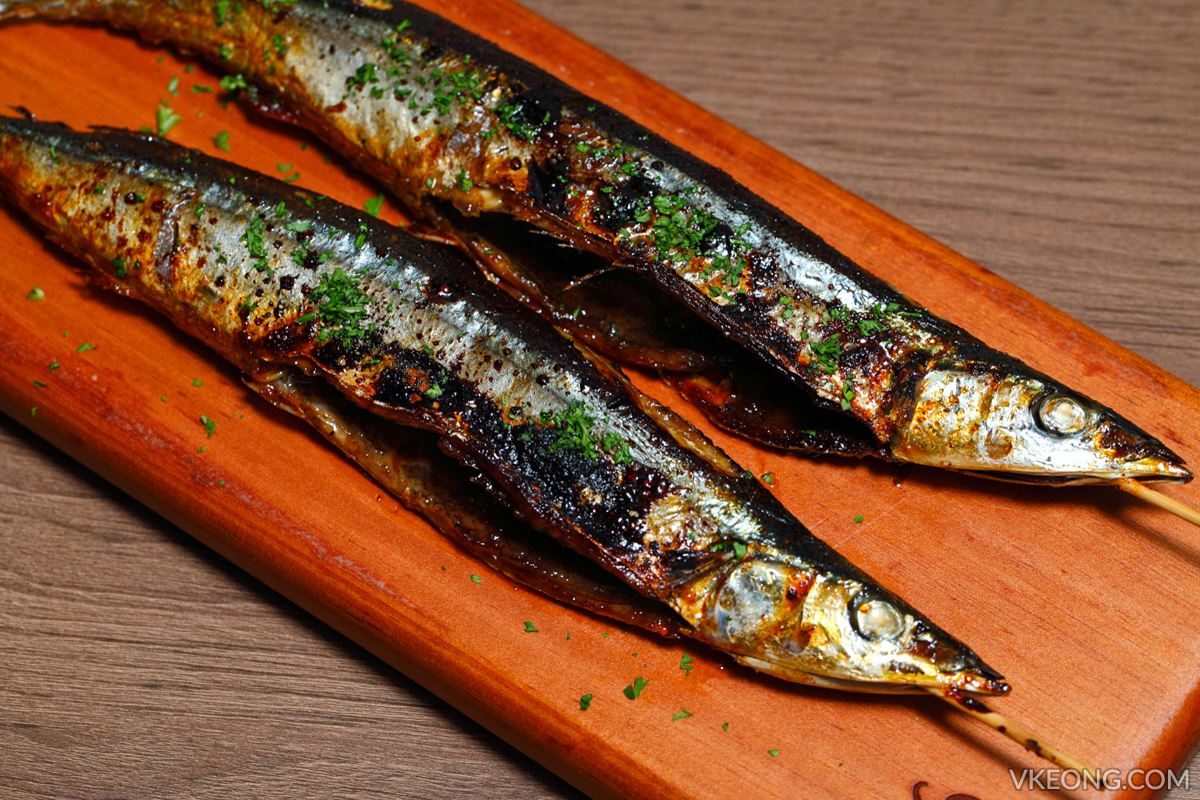 Gold Bar Grilled Spicy Saury Fish