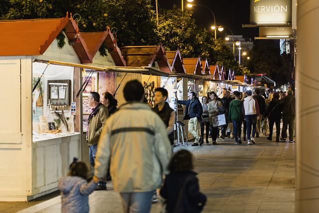 Mercado navideño de Nervión en Sevilla